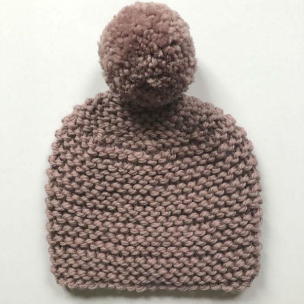 sharp works knitting a hat class